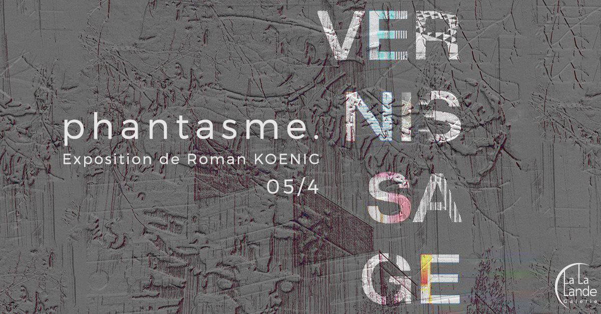 Exhibition Roman Koenig 5/17 April