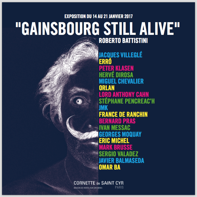 Lord Anthony Cahn 'Gainsbourg still alive'