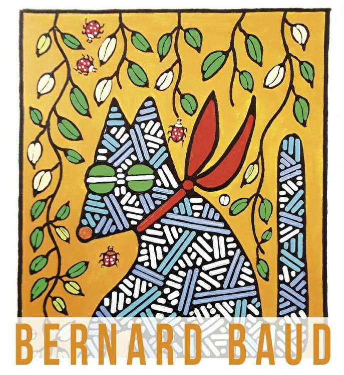 NEW COLLABORATION WITH THE FRENCH PAINTER BERNARD BAUD