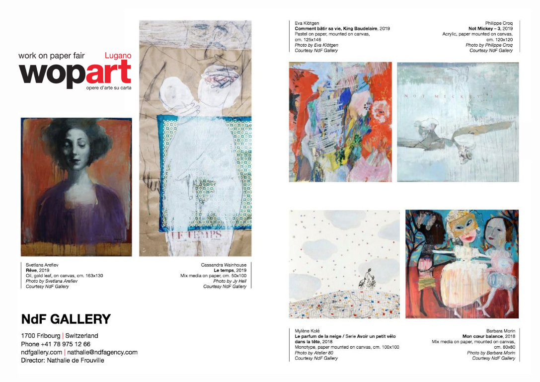 PARTICIPATION TO WOPART - THE ART FAIR DEVOTED TO WORKS ON PAPER